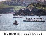 castro urdiales  spain   july... | Shutterstock . vector #1134477701