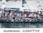 castro urdiales  spain   july... | Shutterstock . vector #1134477719