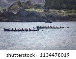 castro urdiales  spain   july... | Shutterstock . vector #1134478019