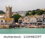 st ives  england   june 19 ...   Shutterstock . vector #1134482297