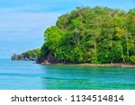 a view mountain and sea... | Shutterstock . vector #1134514814