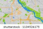 design art map city minneapolis | Shutterstock .eps vector #1134526175