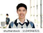 portrait of young attractive... | Shutterstock . vector #1134546521
