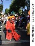 san pedro atocpan  mexico...   Shutterstock . vector #1134561905