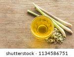 lemongrass is a herb that is... | Shutterstock . vector #1134586751