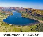 a landscape of ennerdale water...   Shutterstock . vector #1134602534