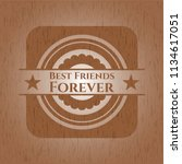 best friends forever badge with ...   Shutterstock .eps vector #1134617051