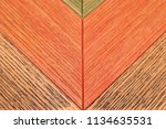 colorful wooden background... | Shutterstock . vector #1134635531