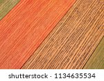 colorful wooden background... | Shutterstock . vector #1134635534