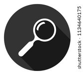 magnifier icon. magnifying... | Shutterstock .eps vector #1134640175