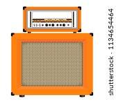 realistic classic guitar...   Shutterstock .eps vector #1134654464