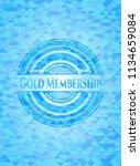 gold membership realistic sky... | Shutterstock .eps vector #1134659084