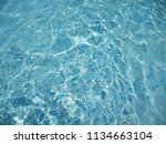 swimming pool background.... | Shutterstock . vector #1134663104