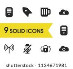 ui icons set with create...