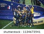 france football national team... | Shutterstock . vector #1134673541