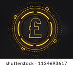 Sterling Money Logo Symbol. 3d...