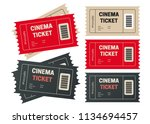 ticket template for your event. ... | Shutterstock .eps vector #1134694457