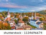 Montpelier  Vermont  Usa Town...