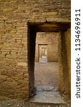 a series of doorways inside of...   Shutterstock . vector #1134696911