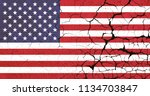 united states crisis | Shutterstock . vector #1134703847