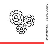 team vector icon   Shutterstock .eps vector #1134720599