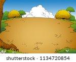 natural backround field   Shutterstock .eps vector #1134720854