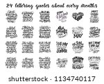 set of vector compositions for...   Shutterstock .eps vector #1134740117