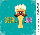 beer me vector concept...   Shutterstock .eps vector #1134767309