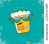beer me vector concept...   Shutterstock .eps vector #1134767489