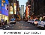new york city   usa   jul 13...   Shutterstock . vector #1134786527