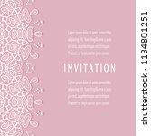 invitation or card templates...   Shutterstock .eps vector #1134801251