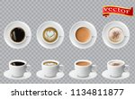 3d realistic different sorts of ... | Shutterstock .eps vector #1134811877