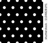 black and white dot pattern... | Shutterstock .eps vector #1134828191