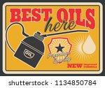 Motor Oil Retro Poster For Car...