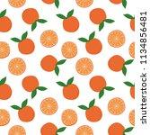 fun simple seamless pattern... | Shutterstock .eps vector #1134856481