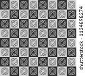 seamless abstract patterns ...   Shutterstock .eps vector #1134898274