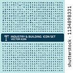 industrial vector icon set... | Shutterstock .eps vector #1134898331