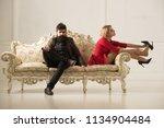 family psychologist.... | Shutterstock . vector #1134904484