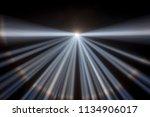 multiple white spotlights... | Shutterstock . vector #1134906017
