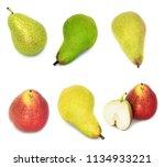 a lot of big  ripe  bright... | Shutterstock . vector #1134933221