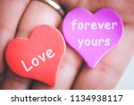 valentine day concept. red... | Shutterstock . vector #1134938117