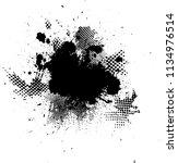 scratch grunge urban background.... | Shutterstock .eps vector #1134976514