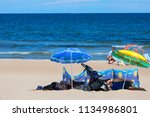 sopot  poland   june 6  2018 ... | Shutterstock . vector #1134986801