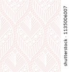 seamless lace pattern made of... | Shutterstock .eps vector #1135006007