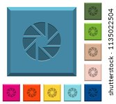 aperture engraved icons on... | Shutterstock .eps vector #1135022504