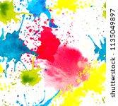 vector artistic seamless... | Shutterstock .eps vector #1135049897