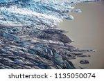 vatnaj kull glacier  iceland | Shutterstock . vector #1135050074