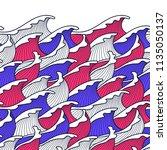 seamless abstract pattern.... | Shutterstock .eps vector #1135050137