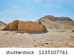 preserved buildings of ancient... | Shutterstock . vector #1135107761