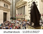 new york  usa   june 10  2018 ...   Shutterstock . vector #1135115027